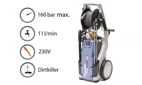 Lavadora Kranzle Profi 160 TS T
