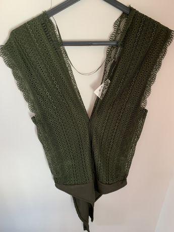 Body verde da Zara (M)