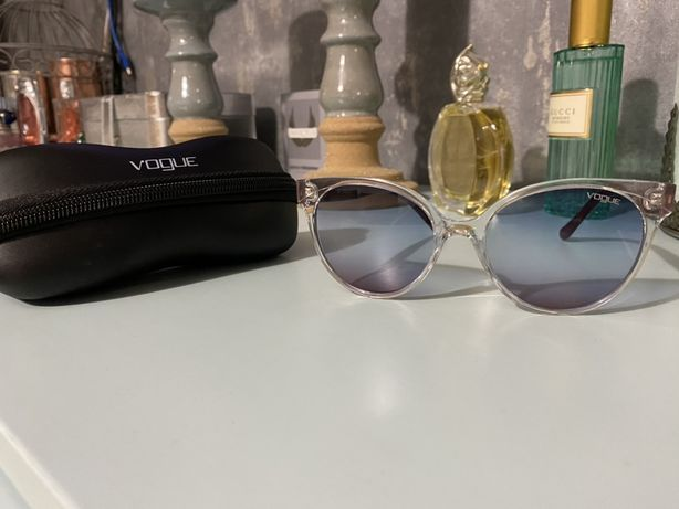 Vogue okulary kocie transparentne okazja oryginalne
