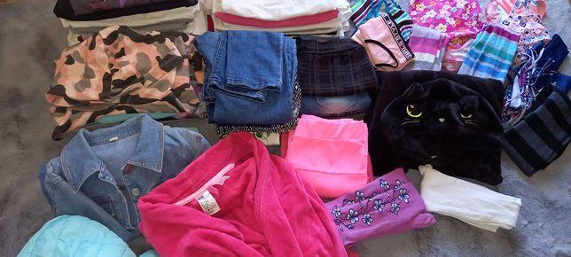 Paka ubrań dla dziewczynki rozm 146 - 152