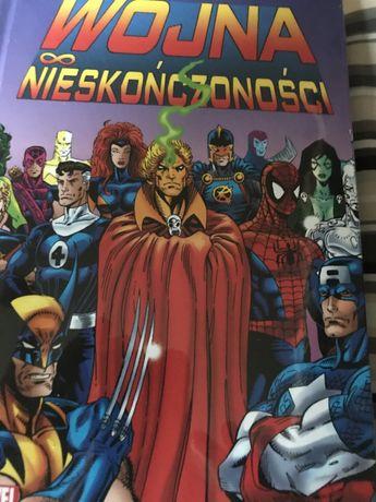 Komiks Marvel Wojna Nieskończoności Nowy w foli.