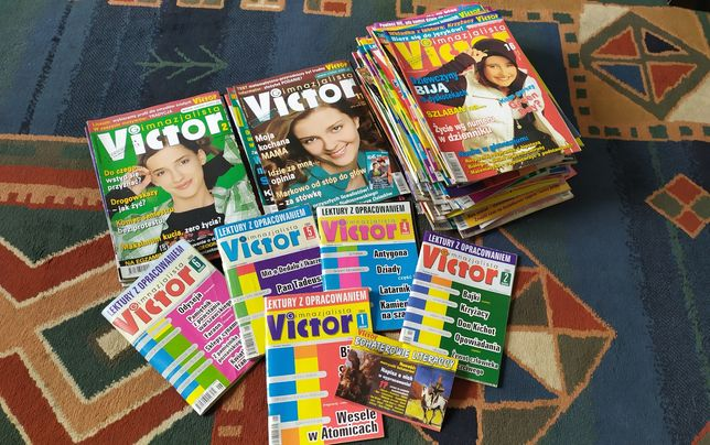 Czasopismo Victor gimnazjalista 54 numery