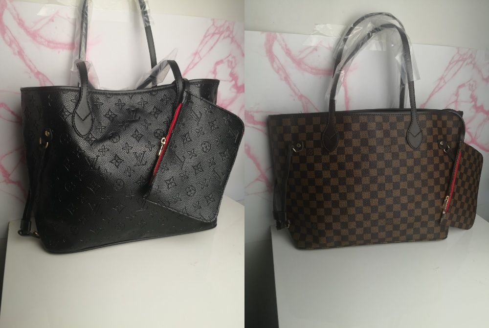 Torba torebka Louis Vuitton damska skórka premium