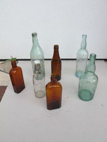 stare butelki po winie