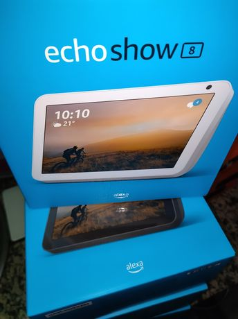 Coluna inteligente Amazon Echo Show 8 SELADO