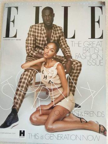 Revista ELLE - Jourdan and Friends - Fevereiro 2019