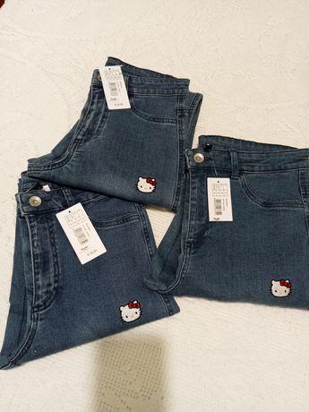Calças jeans , todos os TAM: L  M  S  e XS...