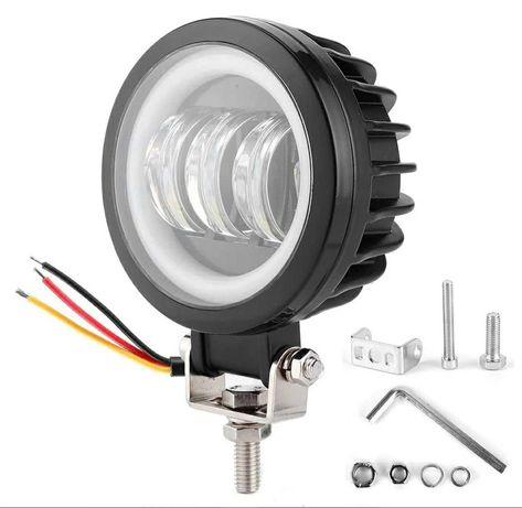 Светодиодная фара 30w LED 90mm светотеневая граница Led балка