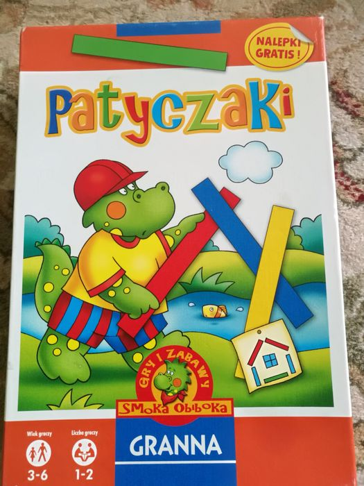Gra edukacyjna patyczaki Warszawa - image 1