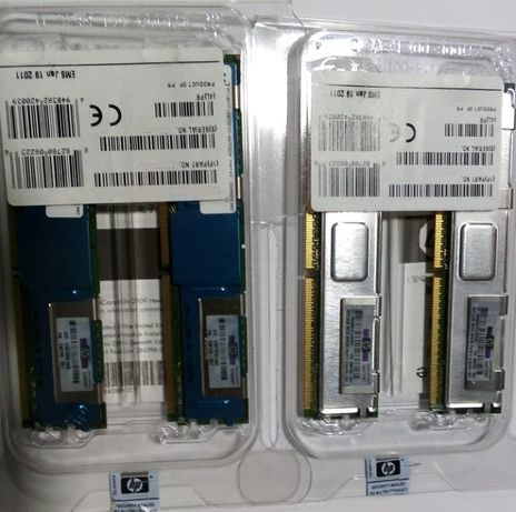 Memórias de Servidor HP - DDR2