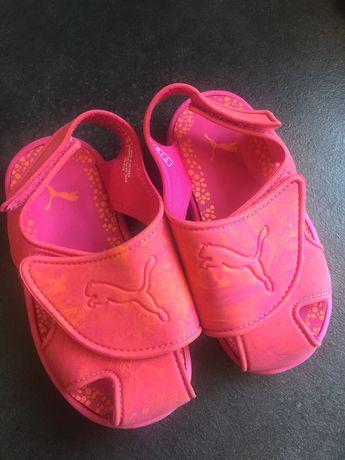 Sandaly malinowe puma dziewczynka 24