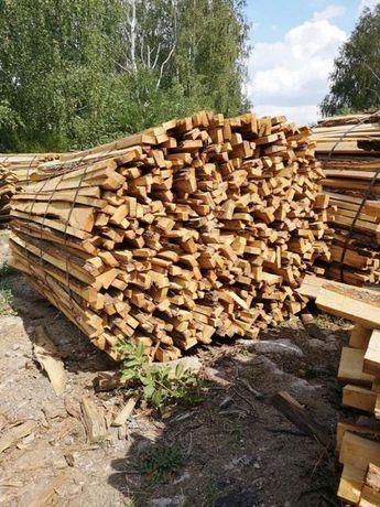 drewno opałowe/ kominkowe DĄB ZRZYNY- paczki 1,65 m3