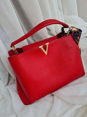 Красная сумка кросс-боди
