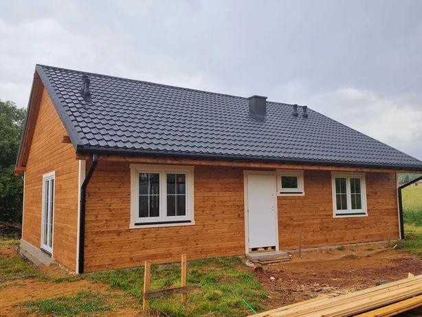 Dom drewniany parterowy ssz.