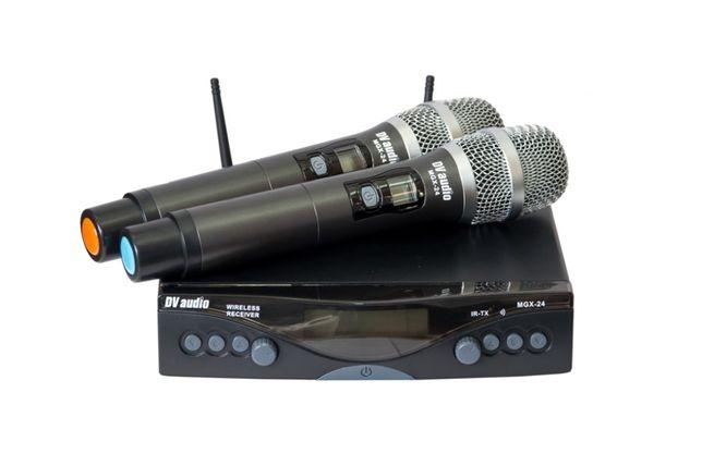Радио микрофоны DV audio MGX-24H для караоке на складе в Харькове