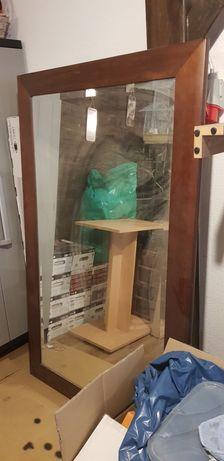 Sprzedam bardzo duze lustro w drewnianej ramie