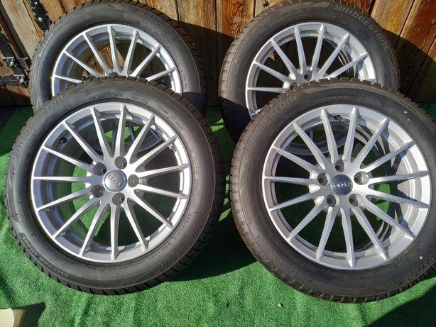 Koła 17 cali Alufelgi oryginalne Audi 5x112,  Bridgestone 225/50/17
