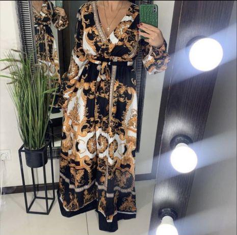 Платье вечернее платье в пол длинное платье
