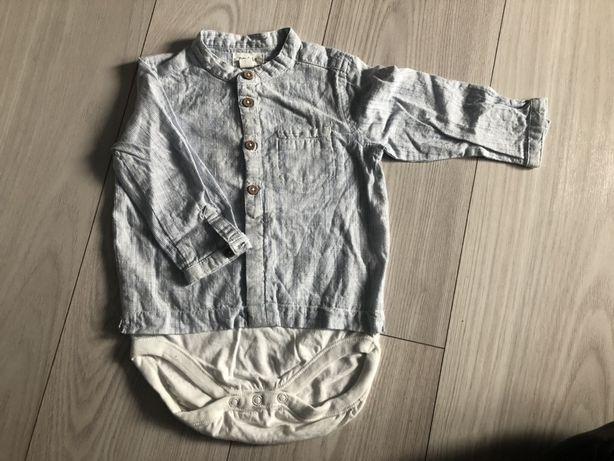 Koszulobody stójka koszula body Newbie 74