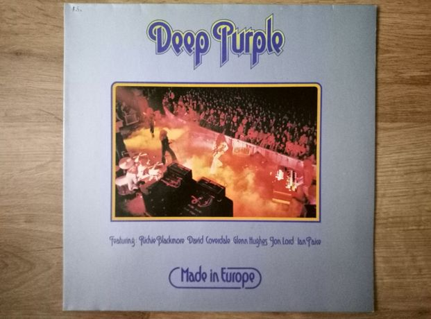 Deep Purple made in Europe winyl.