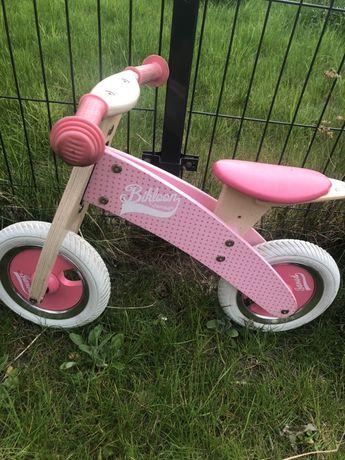 Drewniany rowerek biegowy Janod.