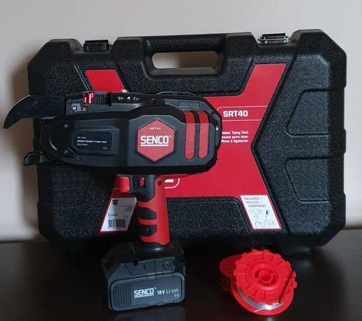 Wiązarka do zbrojenia SENCO SRT40 18V. Drut do wiązarki 0,8mm