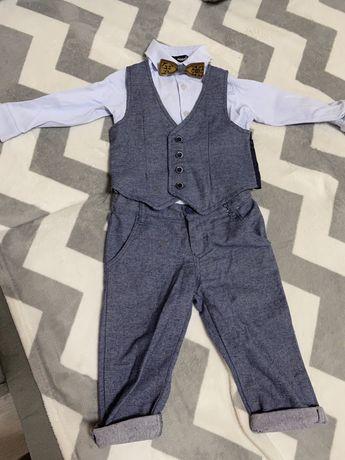 Нарядный костюм + туфельки на крестины, день рождения, годик, два