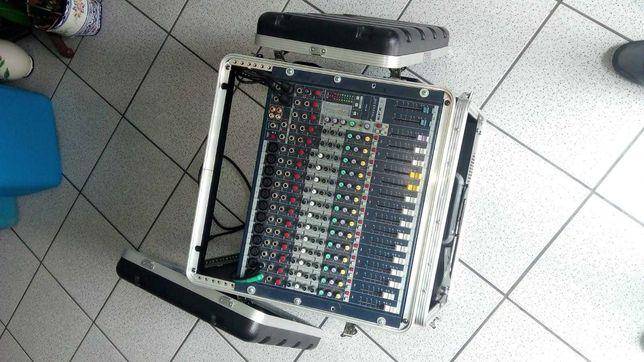 Caixa transporte Rack Case ABS 6+8+10U p/ Mesa Mistura