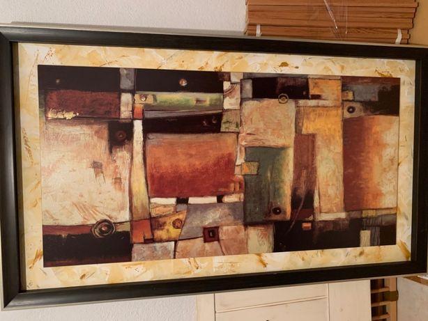 Quadro com motivo Abstrato 160x90