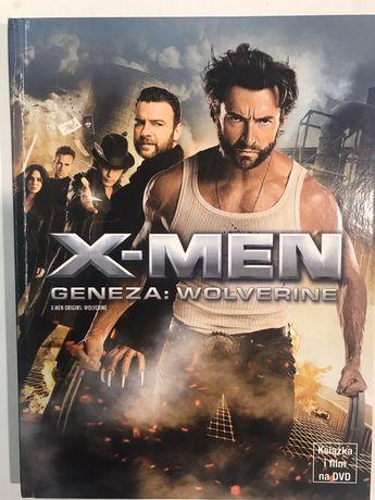 "Książka + film ""X-men Geneza: Wolverine"" DVD"
