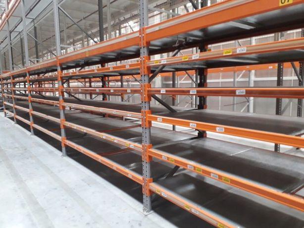 Regały magazynowe masywne metalowe Nedcon 840 kg