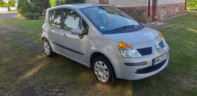 Renault Modus benzyna 138 tys przebiegu zarejestrowany