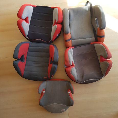 DOAÇÃO - 5 cadeiras auto para criança
