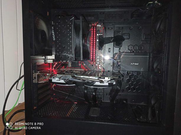 Komputer Stacjonarny RX580 Ryzen3 1200 AF 8gb RAM