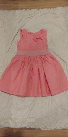 Elegancka różowa sukienka wizytowa Cool Club rozm. 92