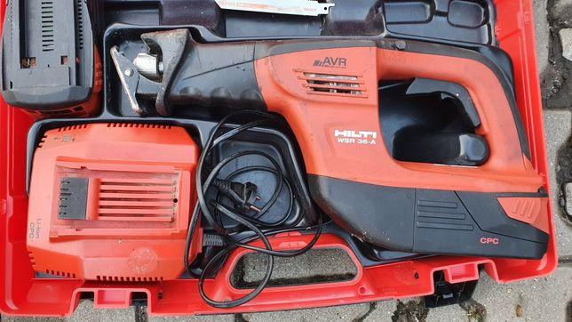 Lisica piła szablasta Hilti WSR 36-a. 2x B36 3.0AH AVR C4/36-350