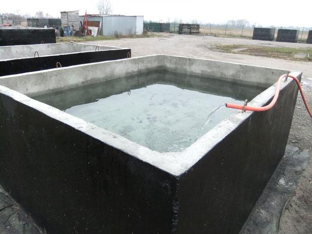 Szambo Szamba Zbiorniki Betonowe Zbiornik Betonowy Atest PZH Gwarancja