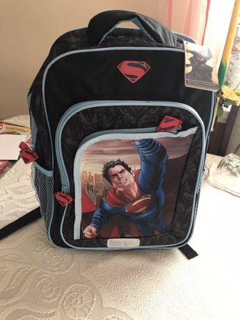 Plecak dla chlopca Superman Nowy z metkami
