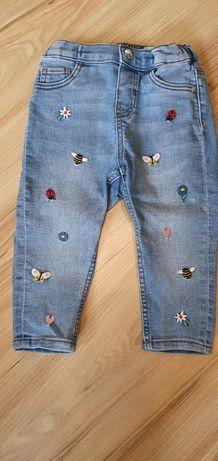 Dżinsy H&M 80 cm