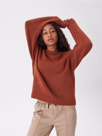 Свитер джемпер пуловер кофта кирпичного цвета house