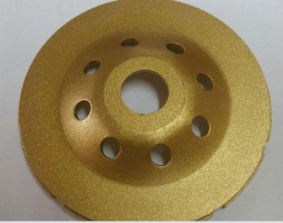 Tarcza diamentowa garnkowa segmentowa lub turbo 125 mm