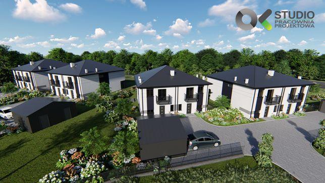 Grodzisk Maz./ Adamowizna nowe osiedle Eco Premium- kameralnie 6 domów