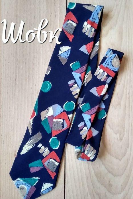 Шовкова краватка з абстракцією\шелковой галстук Коломыя - изображение 1
