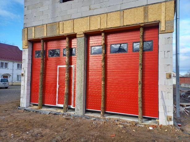 Brama segmentowa garażowa przemysłowa bramy garażowe TARNOGRÓD DOORTEK