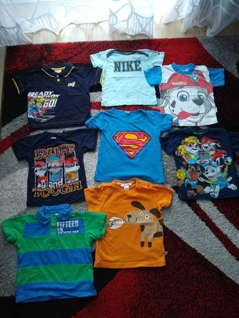 Koszulki Psi Patrol, Nike, Tomek i Przyjaciele, H&M