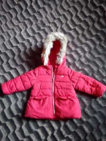 Kurtka Zara zimowa 86 dziewczęca