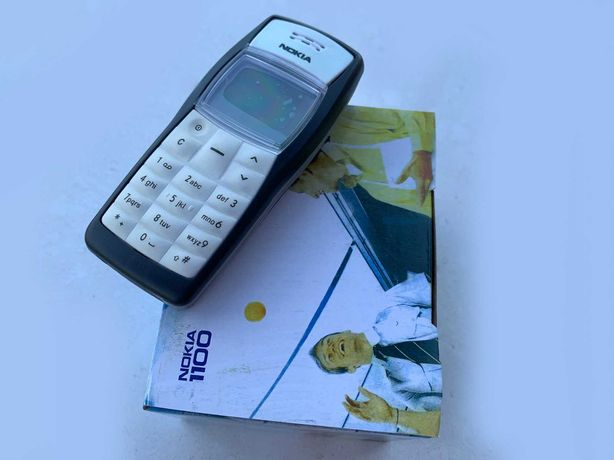 Made in Finland! Телефон Nokia 1100 (новенький)