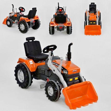 Педальный трактор экскаватор с ковшом Active Traktor Велотрактор