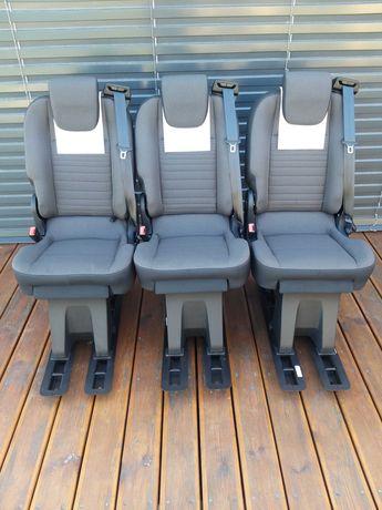 Fotele do busa kampery zabudowa busów fotele z pasami stolik