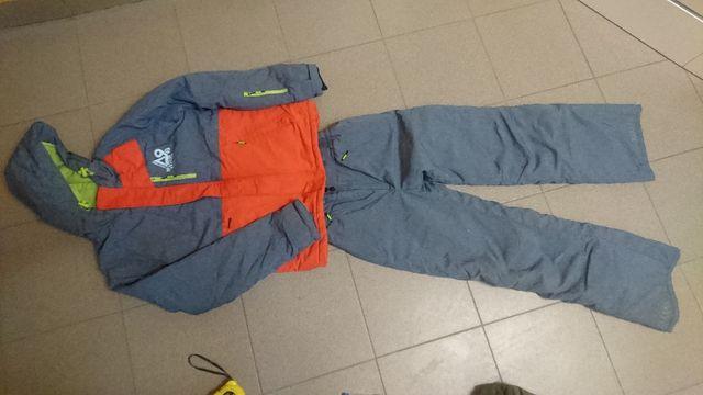 kurtka i spodnie narciarskie dziecięce